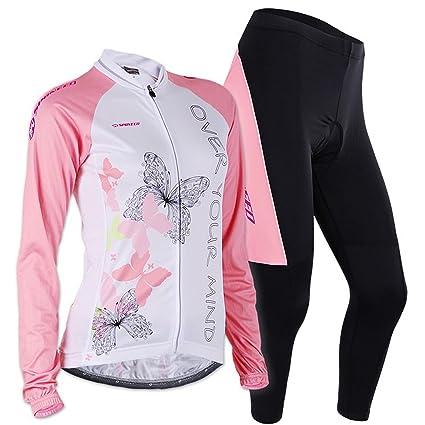 Amazon Com Sponeed Women S Road Cycling Jacket Bike Clothes Pants