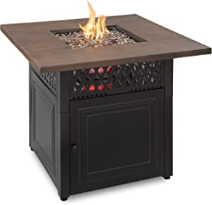 Endless Summer Dual Heat 2 in 1 Propane Fire Pit & Outdoor Heater | 41,000 Total Combined BTU | 38