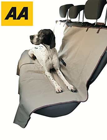 Dog Seat Cover For Pets And Kids And Protects Your Rear Seats From