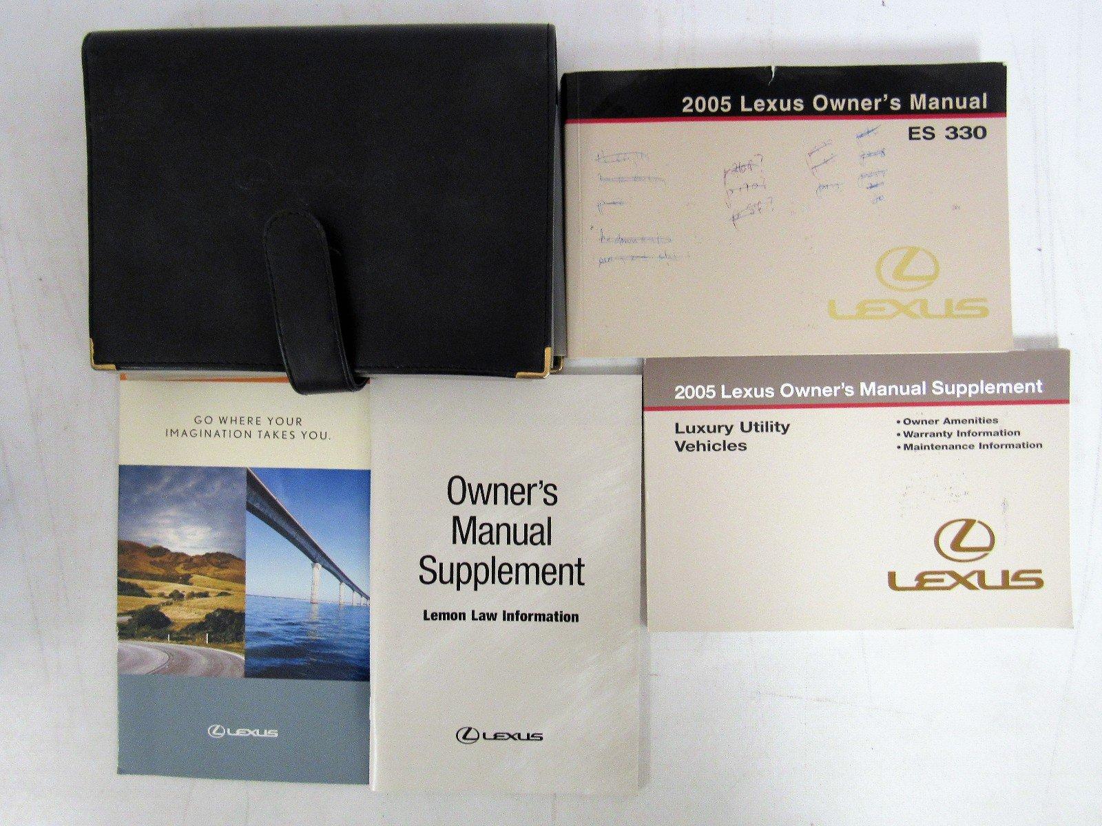 2005 lexus es 330 owners manual guide book lexus amazon com books rh amazon com 2005 lexus gx470 owners manual pdf 2005 lexus es 330 owners manual pdf