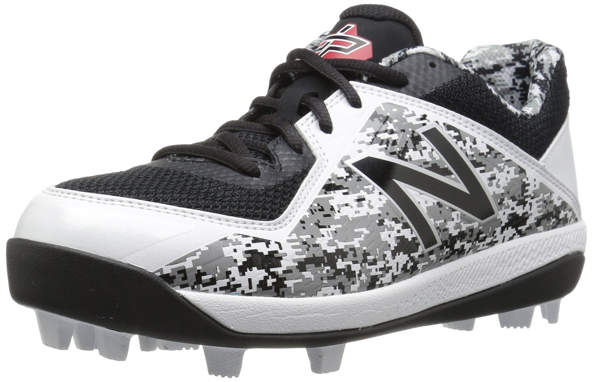 New Balance Boys' 4040v4, Black/Camo, 12.5 W US Little Kid by New Balance