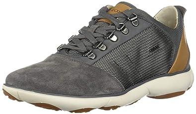 Geox U Nebula A, Sneakers Basses Homme, Gris (Grey C1006