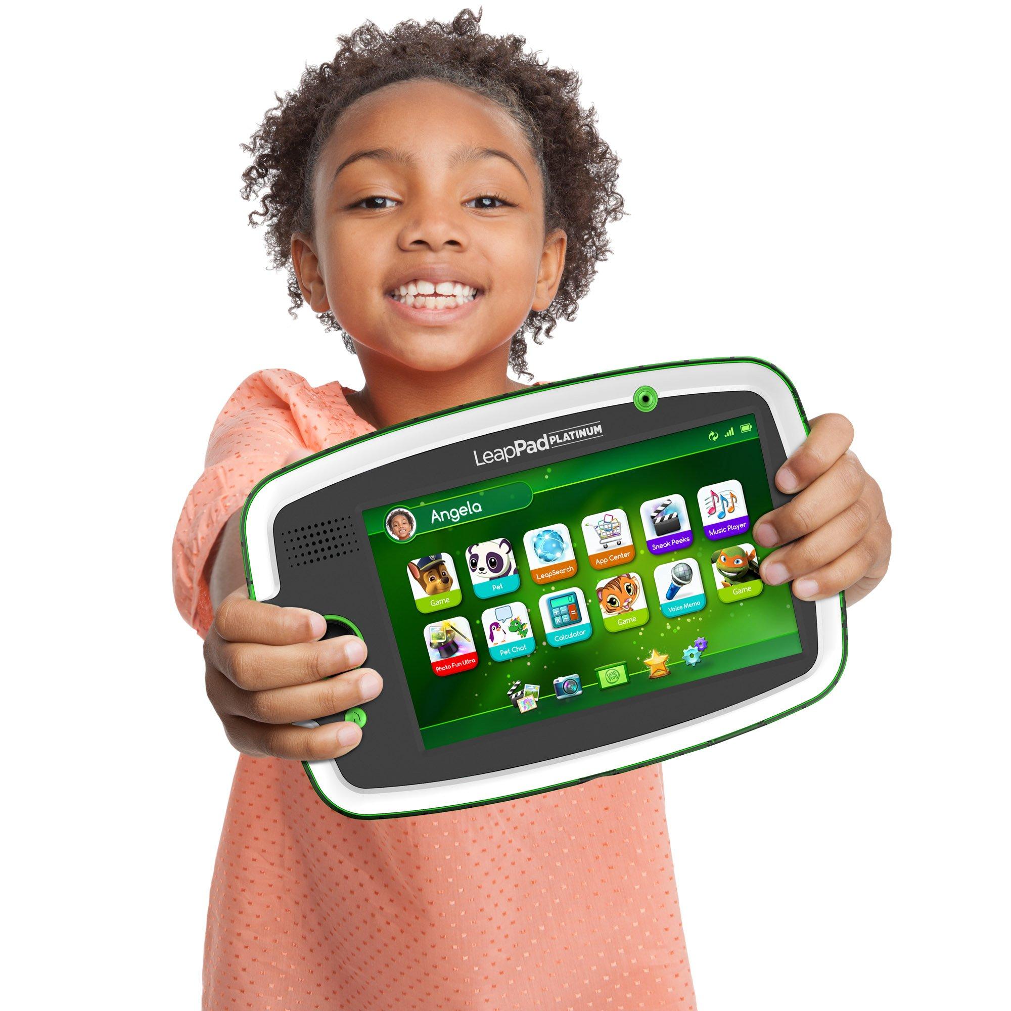 LeapFrog LeapPad Platinum Kids Learning Tablet, Green by LeapFrog. (Image #9)