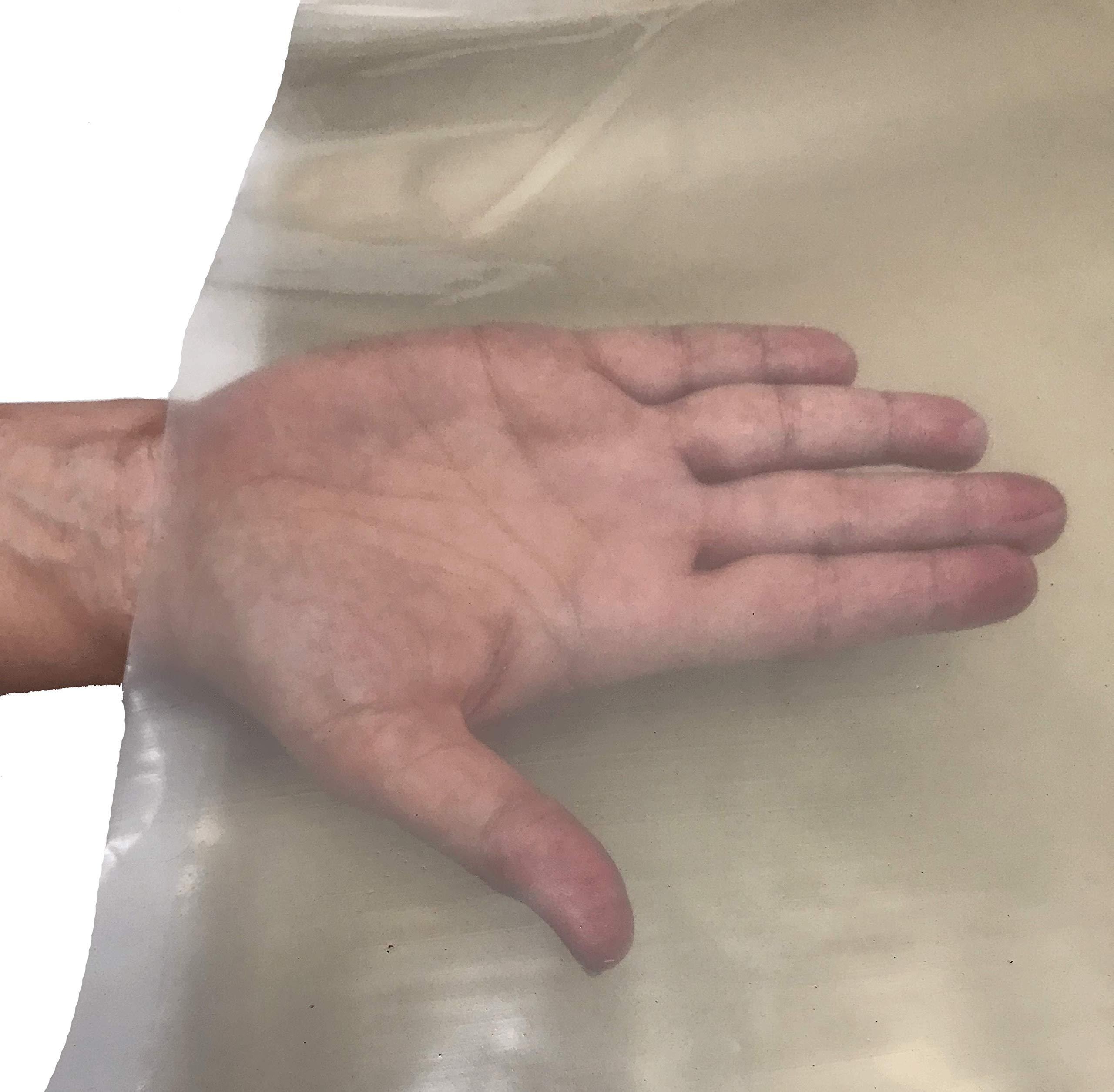 Plastic Sheeting Heavy Duty 6Mil 20x100 Feet Roll