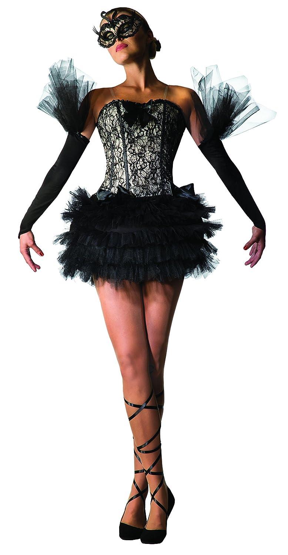 Bristol novità 78964 nero Swan ballerina costume, taglia 10 – 14