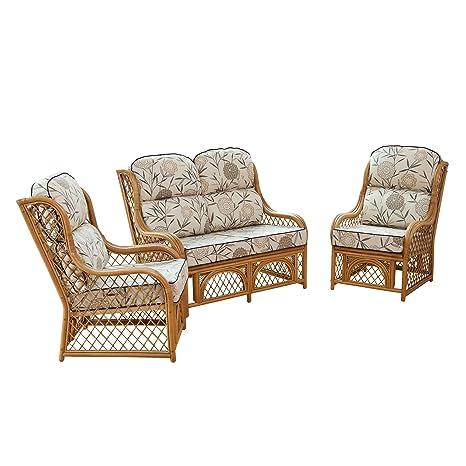 Cadiz Cane conservatorio muebles suite SET con cojines de ...