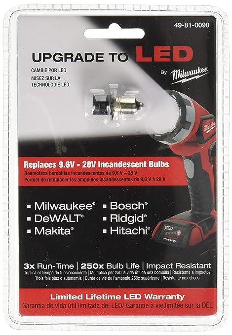 Milwaukee 49-81-0090 M12/M18 Flashlight LED Upgrade Kit
