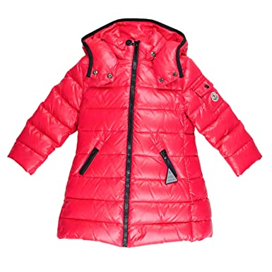 buy popular a296c d6eb5 Moncler Daunenmantel Moka - rot, Größe:2 Jahre / 92: Amazon ...