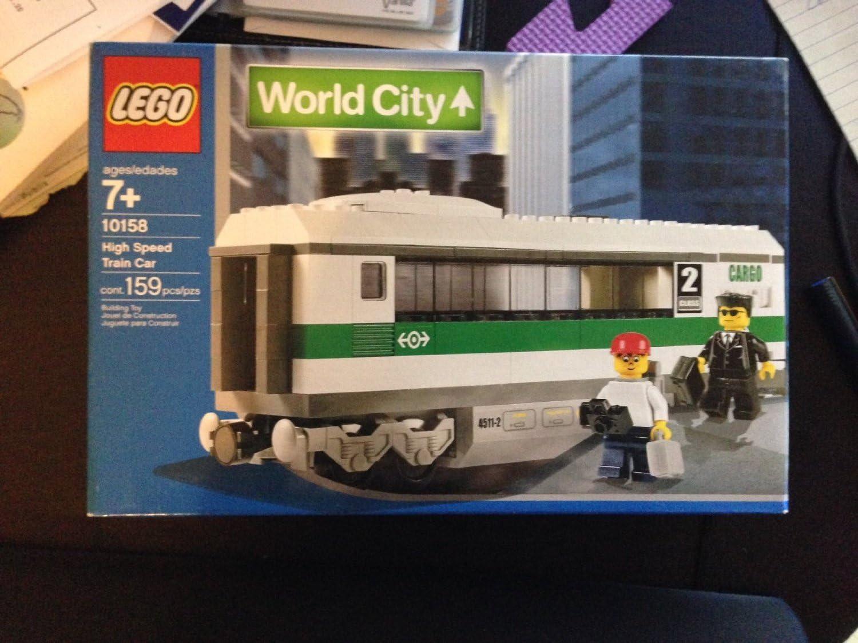 LEGO World City 10158 High Speed Train Car