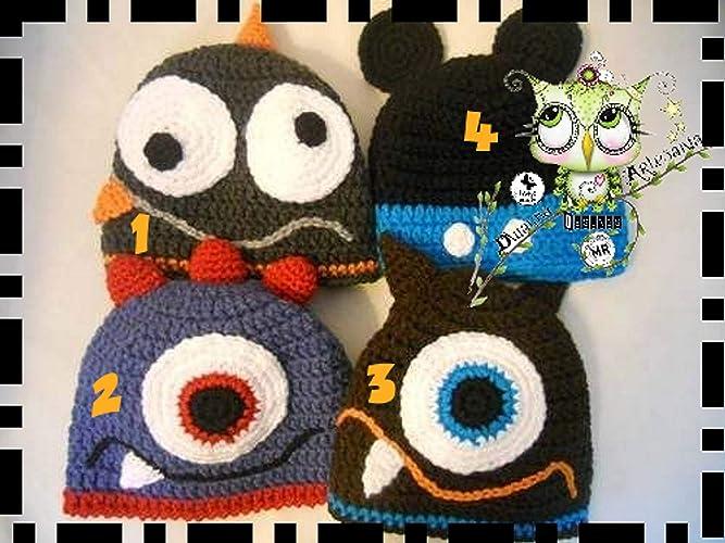 053d87d276abb Gorro Monstruo Mickey Mouse PERSONALIZABLE (Bebé