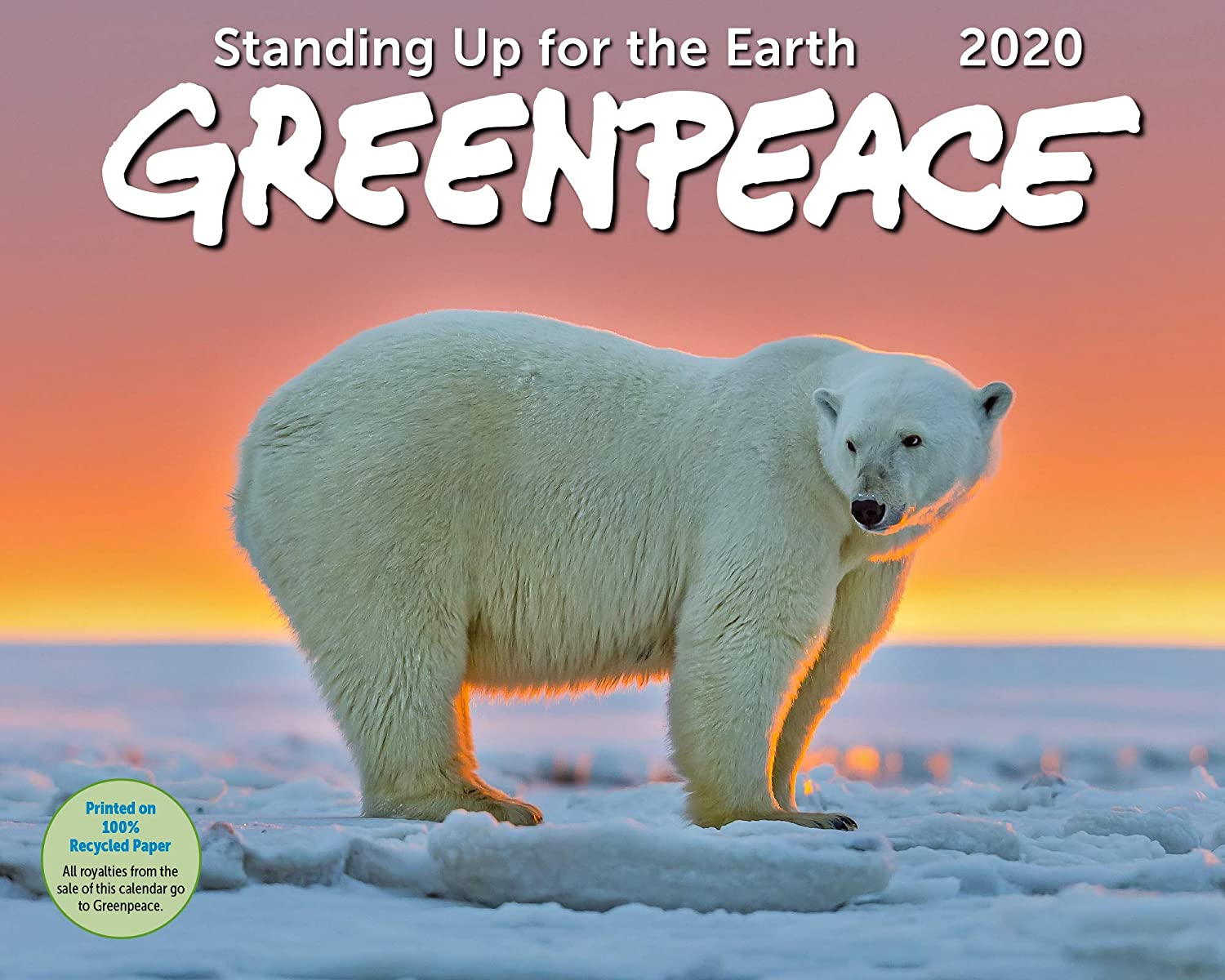 Amazon.: Greenpeace Wall Calendar 2020 Monthly January