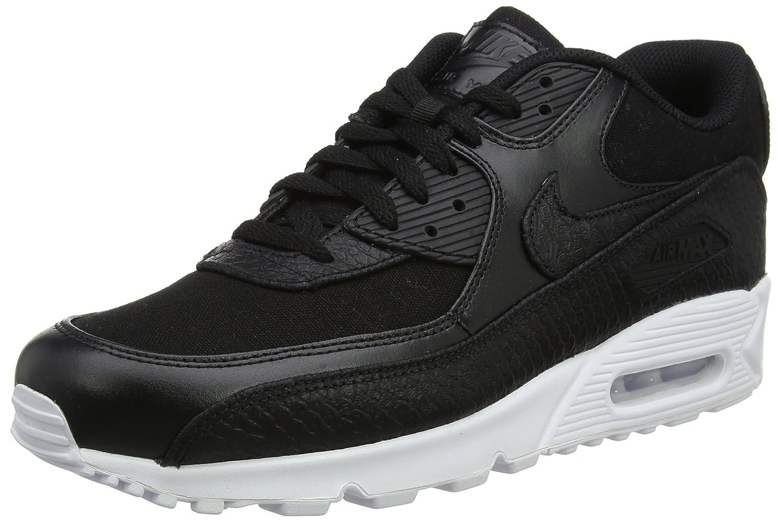 c69ac2cedae3 Nike Herren Air Max 90 Premium Sneaker, Grau 44.5 EU Schwarz (Black Black  White) - sommerprogramme.de