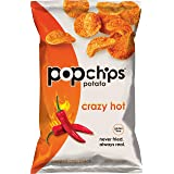 Popchips Potato Chips Crazy Hot 5 oz Bags (Pack of 12)