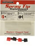 Rust-Oleum 7898000 Replacement Spray Tips (4 Pack)