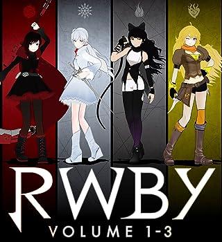 RWBY VOLUME 1-3 Blu-ray SET