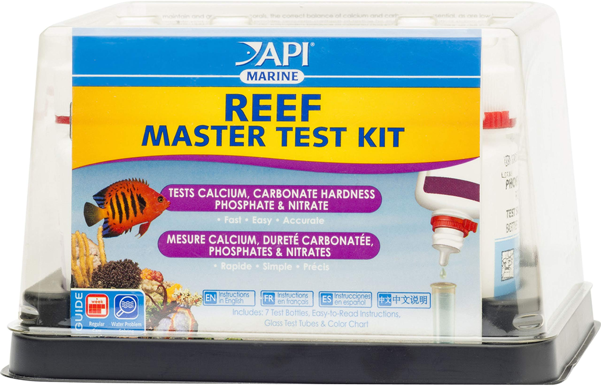 MARS FISHCARE NORTH AMER Reef Master Test Kit 25 Count