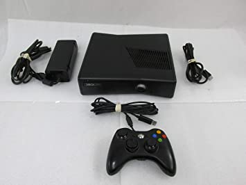 Microsoft Xbox 360 Slim System w/320GB HDD HDMI Port & Optical Audio - Unit  Only