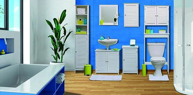 Toiletten-Äberbau fürs Badezimmer - 2 Türen und 1 Ablage - Kolonial ...