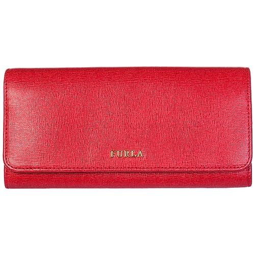 Furla monedero cartera bifold de mujer en piel nuevo Babylon rojo: Amazon.es: Zapatos y complementos