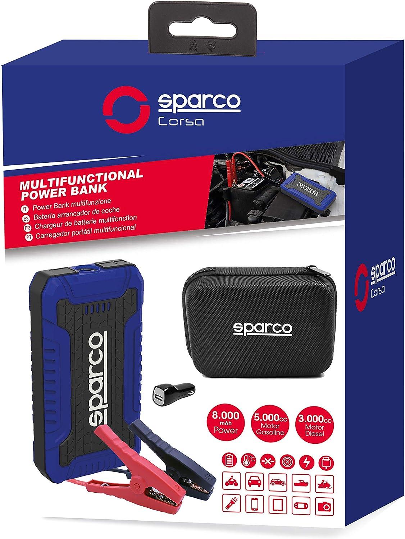 Sparco Corsa 6922516320264 8000 Mah Starthilfe Auto