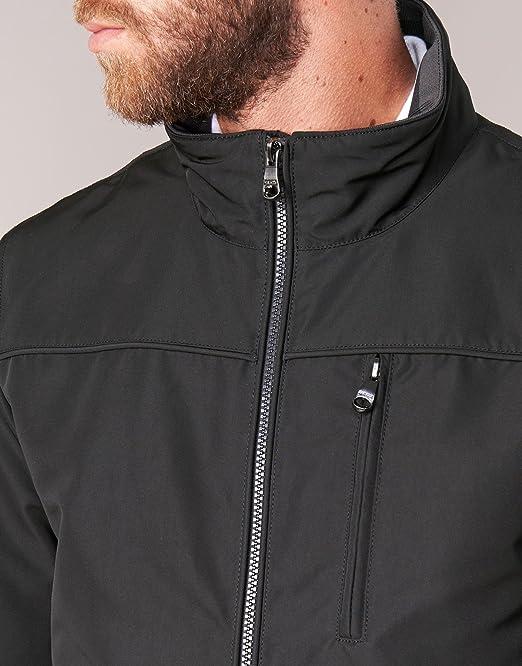 Geox Jacket Man M7420C Giubbotto Uomo Nero: Amazon.co.uk