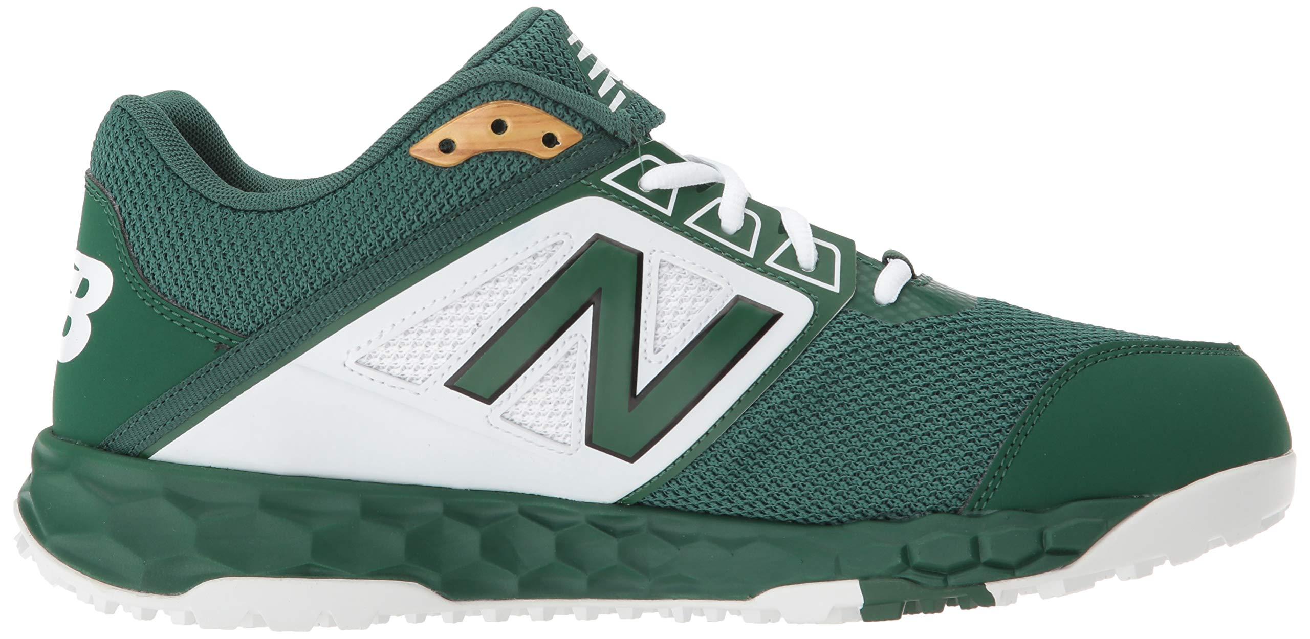 New Balance Men's 3000v4 Turf Baseball Shoe, Green/White, 5 D US by New Balance (Image #7)