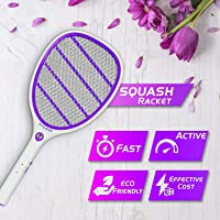 Hygiene Squash Mosquito Killer Racket Rechargeable Bat Mosquito Racket Fly swatter Bug Zapper for Home