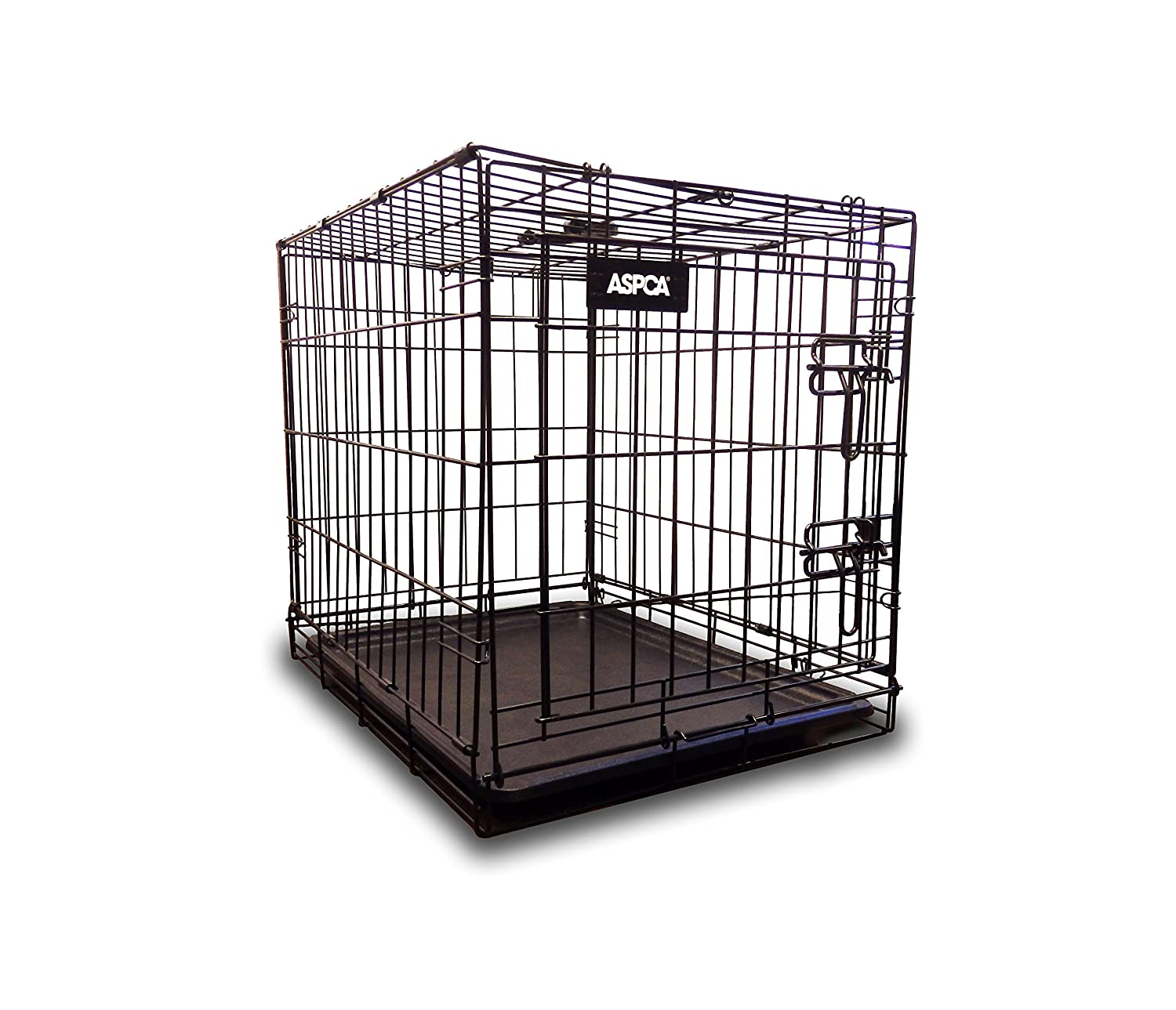 Amazon ASPCA AS6012S Metal Pet Crate Kennel with Removable