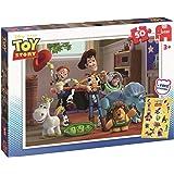 JUMBO 17159 Disney Toy Story Puzzle 50 Pièces Avec Autocollants Gratuits