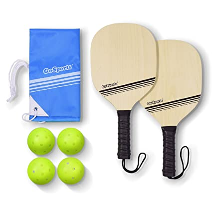 GoSports Wooden Pickleball Starter Set