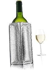Vacu Vin Rapid Ice Wine Cooler - Silver