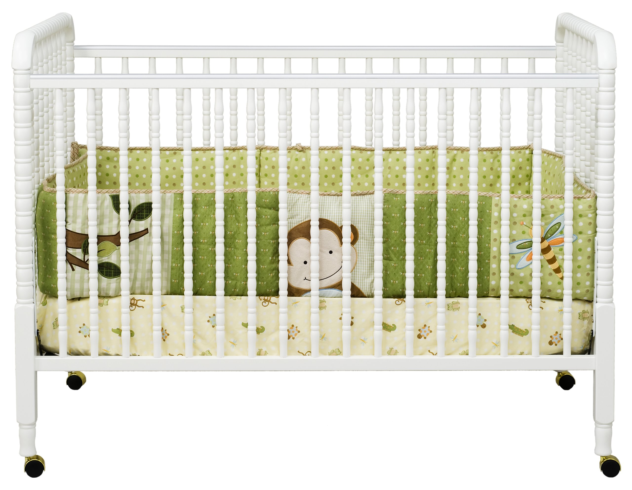 DaVinci Jenny Lind Stationary Crib, White by DaVinci (Image #2)