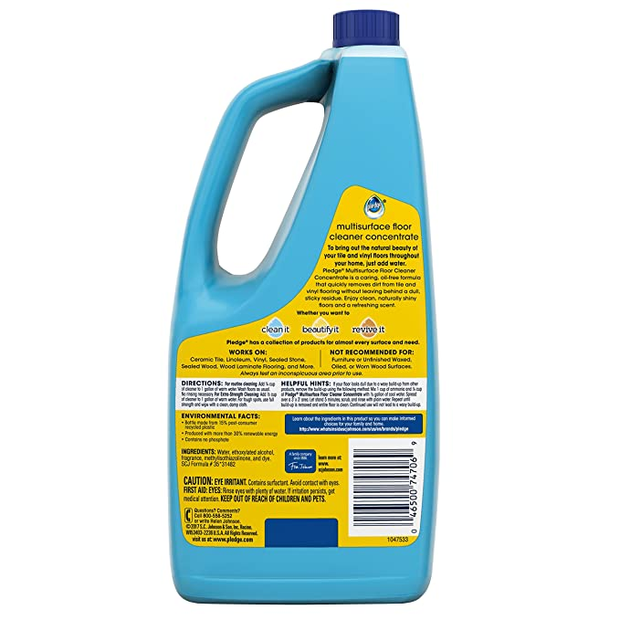 Amazon Pledge Floorcare Multi Surface Concentrated Cleaner