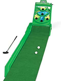 Amazon.com: Kids Golf Set - Putting Mat Indoor and Outdoor Mini ...