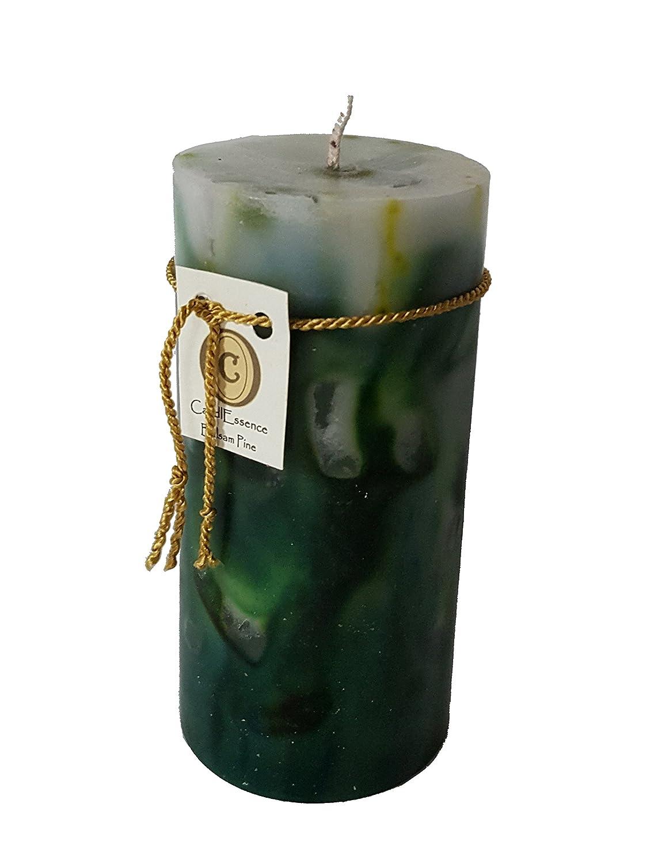 ハンドメイドScented Candle – Long Burningピラー – Balsam Pine香り M BLSMPN B01N1F9HII   Medium