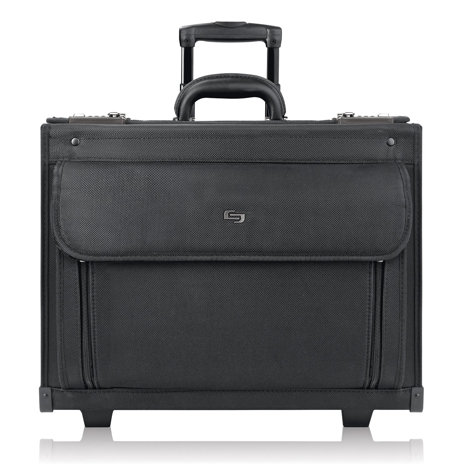 51fd8f9152f9 Solo Classic Collection Ballistic Nylon Rolling Laptop Catalog Case ...