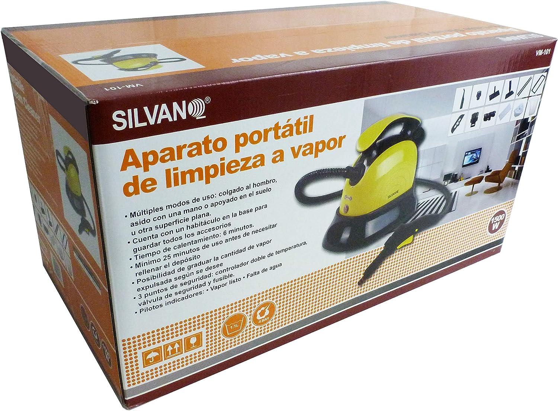 Portable Vaporeta 1500W dispositivo portátil 1,1L 4Bar: Amazon.es: Hogar