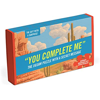 Knock Knock Message Puzzle, You Complete Me: Office Products