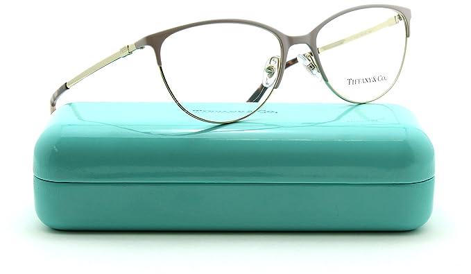 3ca26445b76 Amazon.com  Tiffany   Co. TF 1127 Women Cat Eye Metal Eyeglasses RX ...