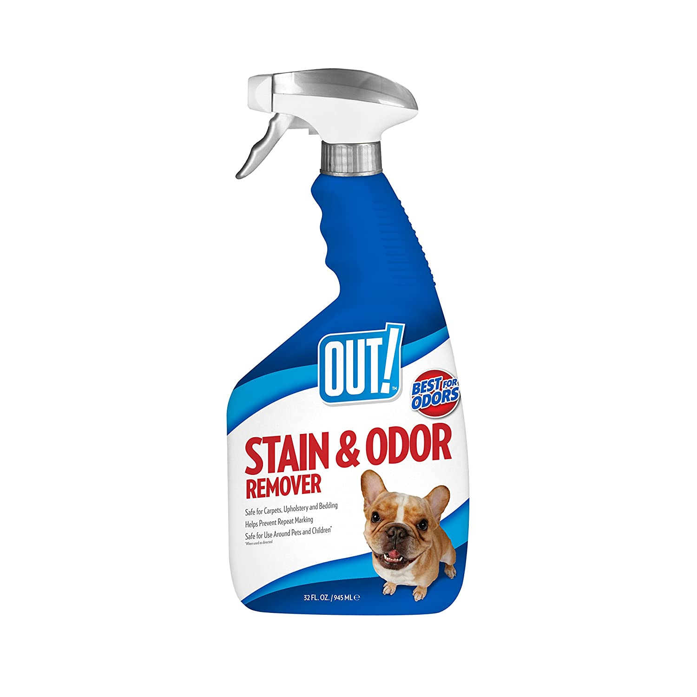 Pet Stain & Odor Remover, 32 oz, USA Made : Pet Stain Spray : Pet Supplies