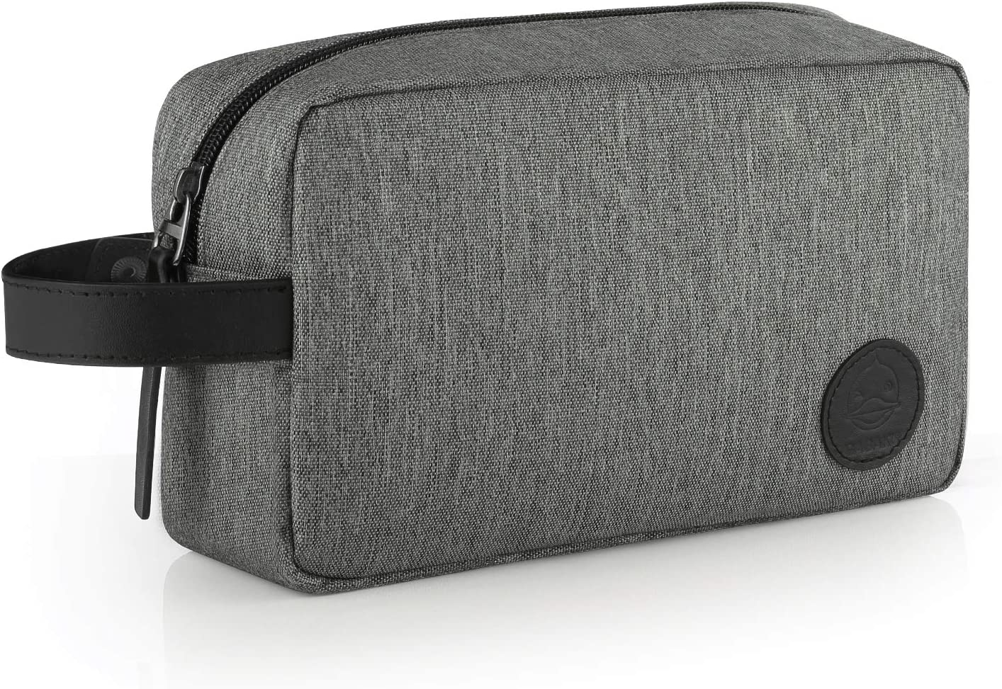 Gris GAGAKU Homme Trousse de Toilette Imperm/éable Dopp Kit Multifonctions Trousses /à Maquillage de Voyage