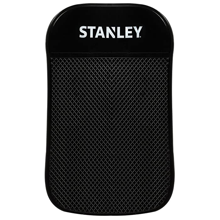 """Stanley Sticky Pad - Universal Car Dashboard Mat w/Extra Strong Anti-Slip Grip for Cell-phone, Tablet, GPS, iPod, Keys or Sunglasses - Great for Car, RV, Golf Cart, Boat & More - 3.5"""" x 5.75"""""""