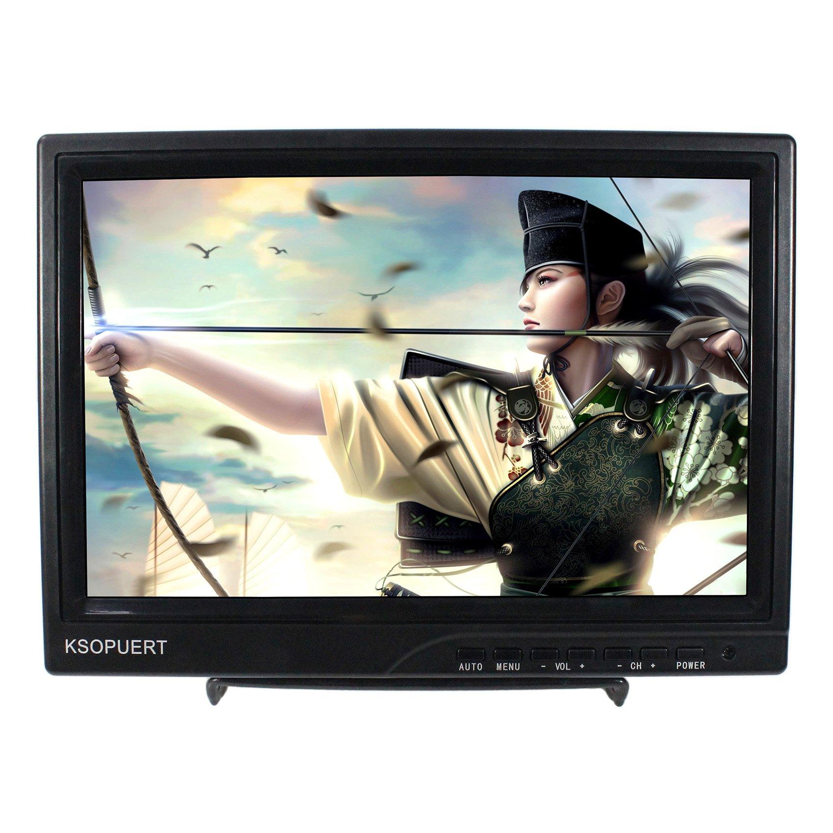 10.1'' 1366x768 HD IPS LCD Monitor HDMI VGA CVBS USB Input Eearphone Speaker Suitable For Extra Raspberry Pi Monitor Game Monitor