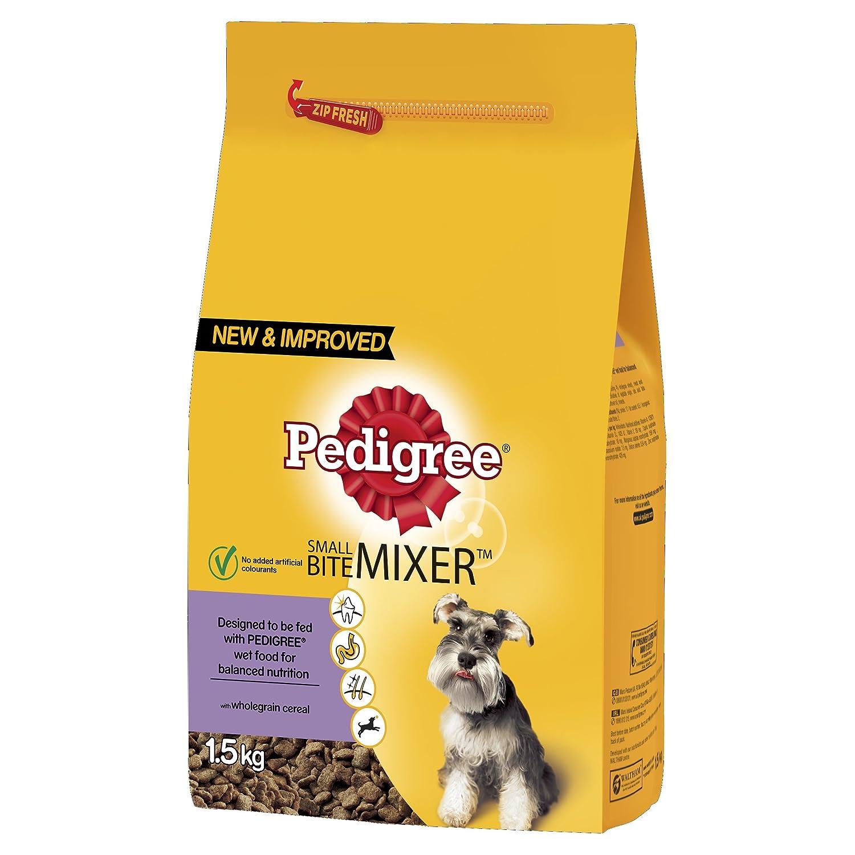 Pedigree Small Dog Mixer Original 1.5kg (Pack of 4)