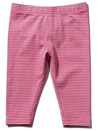 af3e1493a M&Co Baby Girls Pink Stripe Print Full Length Casual Basic Elasticated  Waist Everyday Essential Leggings: Amazon.co.uk: Clothing