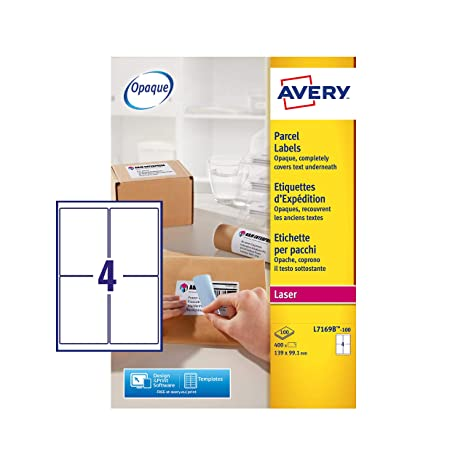 Amazon.com: Avery L7169B - Etiquetas autoadhesivas para ...