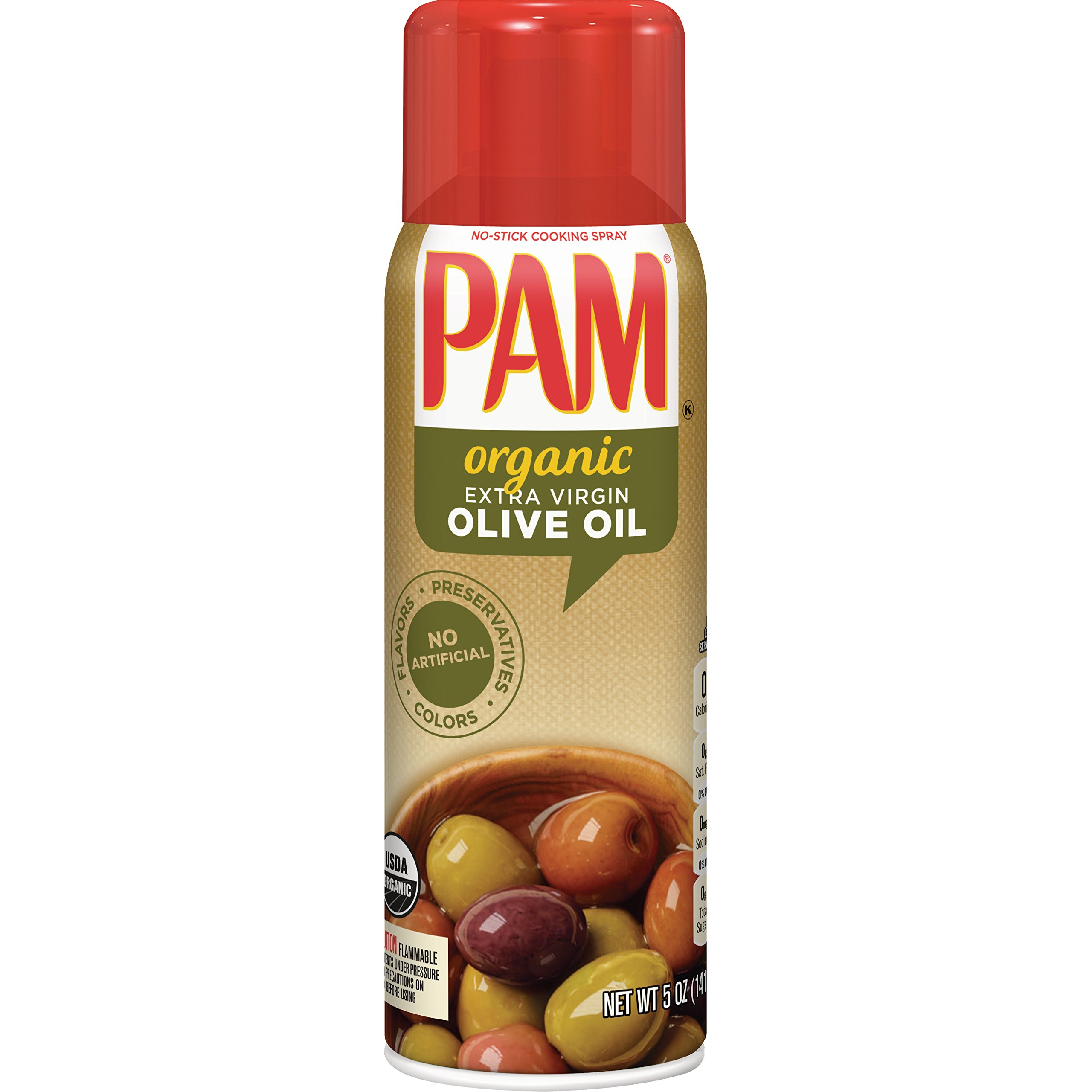 PAM Organic Olive, 5 oz