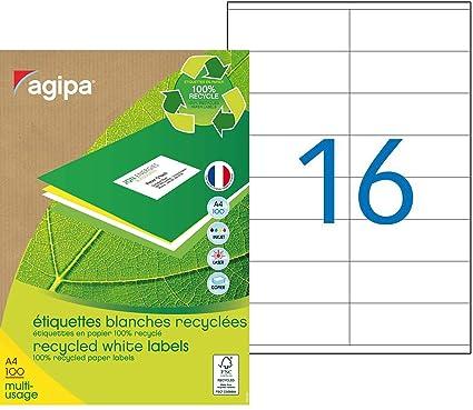 Agipa - Etiquetas para impresora de inyección, láser y ...