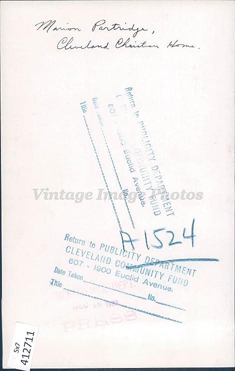 Amazon Com Vintage Photos 1932 Photo Marion Partridge