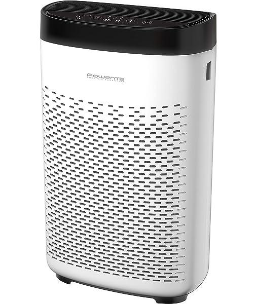 Rowenta Pure Air Essential PU2530 purificador de aire con prefiltro, filtro de carbón activo y filtro de partículas finas, 3 velocidades, modo Silencio, indicador de cambio de filtro y temporizador: Amazon.es: Hogar